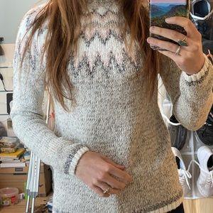 Wind river knit sweater